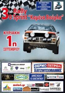 3o Rally Sprint Καμένα Βούρλα