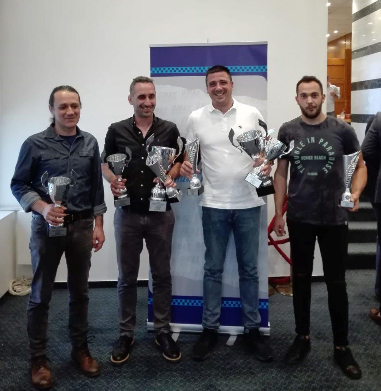 Τελετή Βράβευσης Πρωταθλητών Αγώνων Αυτοκινήτου 2018